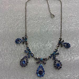 Blue Sapphire Statement necklace